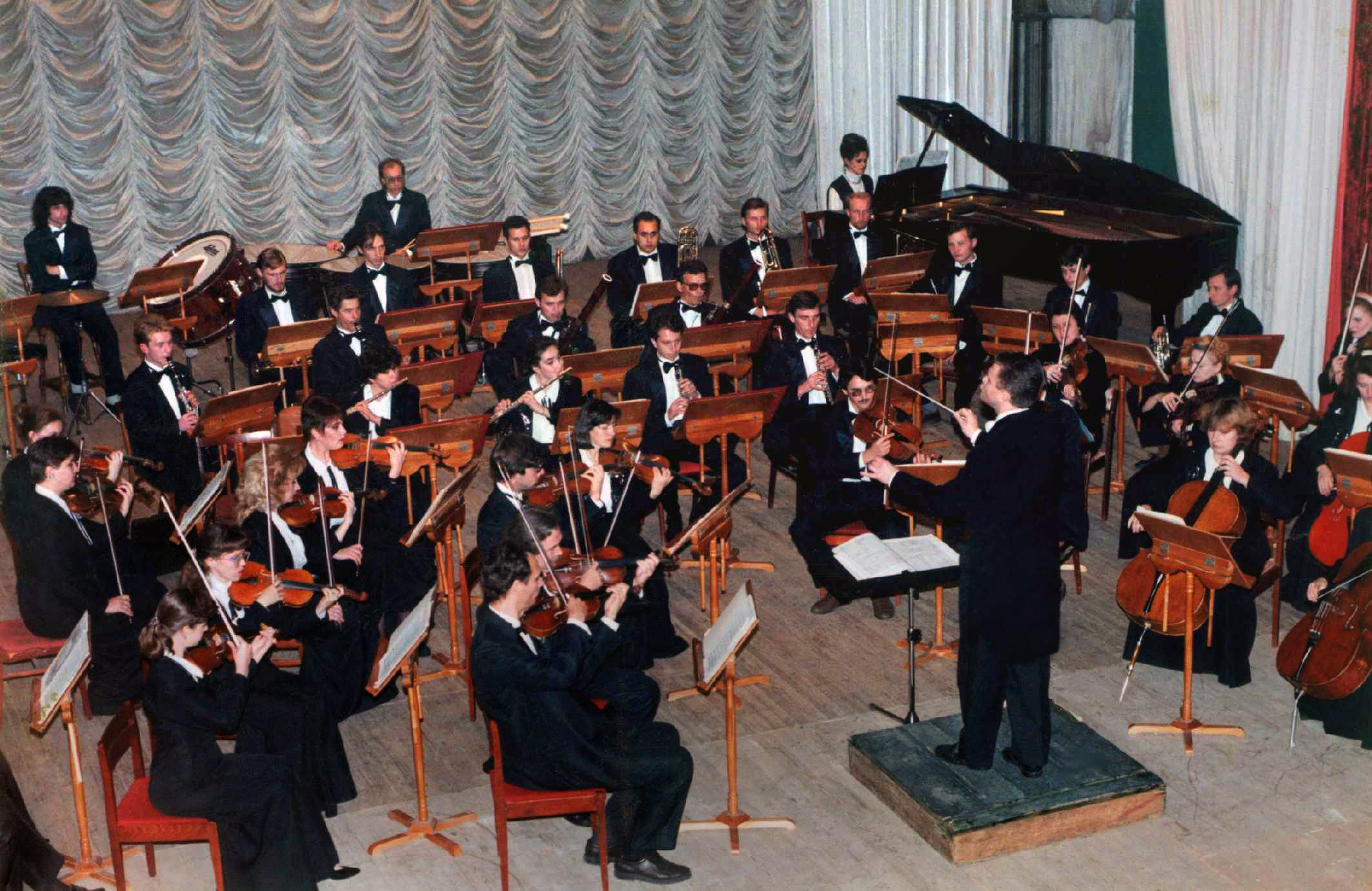 The Symphony orchestra of Republic Adygeya. Roman Moiseyev